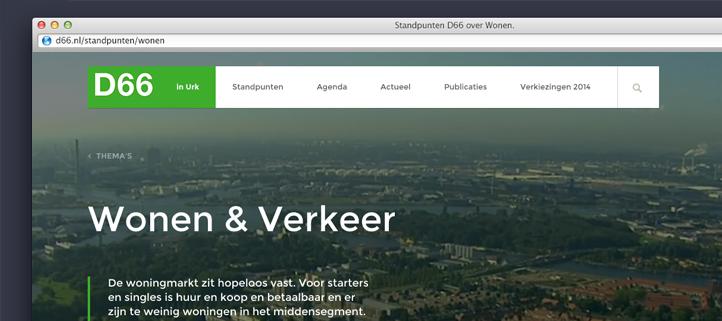 D66 website